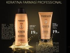 Produse pentru păr cu keratină
