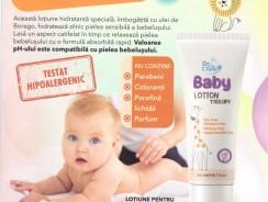 Gama pentru bebeluși cu ulei de borago